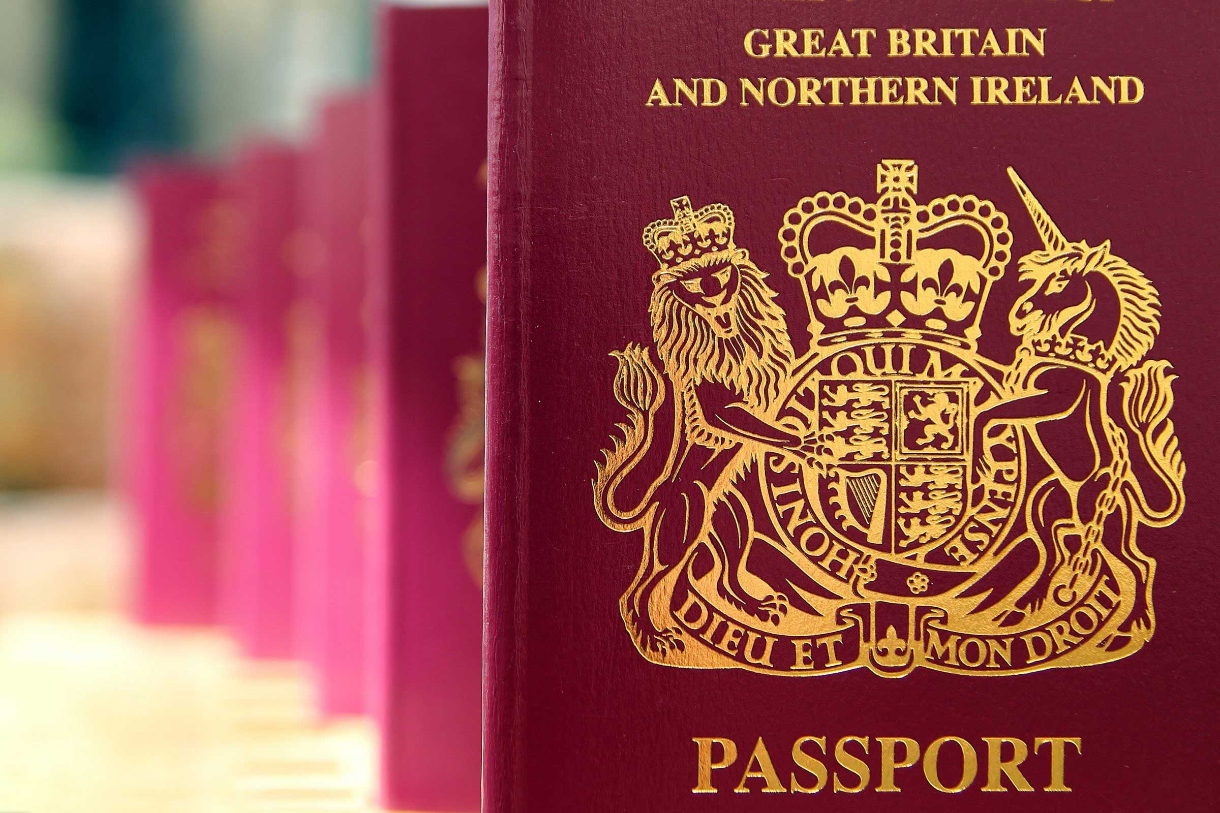 Applying for a UK passport and Visa