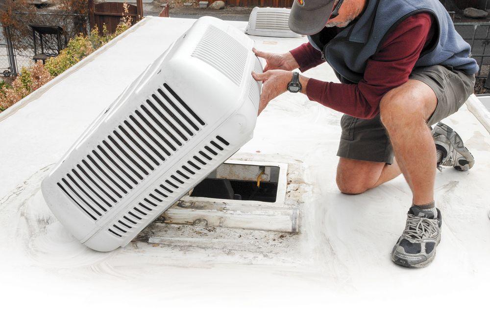 rv roof air conditioner