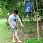 How Powered Camping Shower Operates