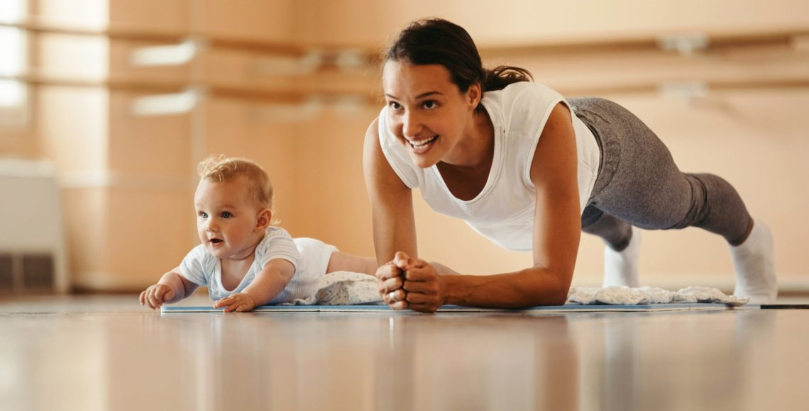 First-Time Mom's Guide to Staying Fit and Healthy After Giving Birth